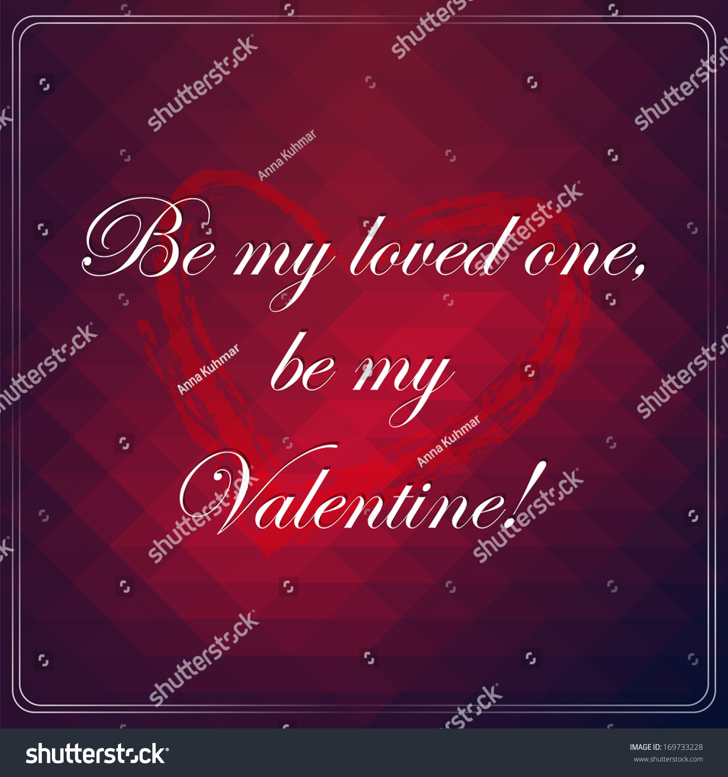 Love Quote Picture Frames Love Quote Poster Effects Poster Frame Stock Vector 169733228