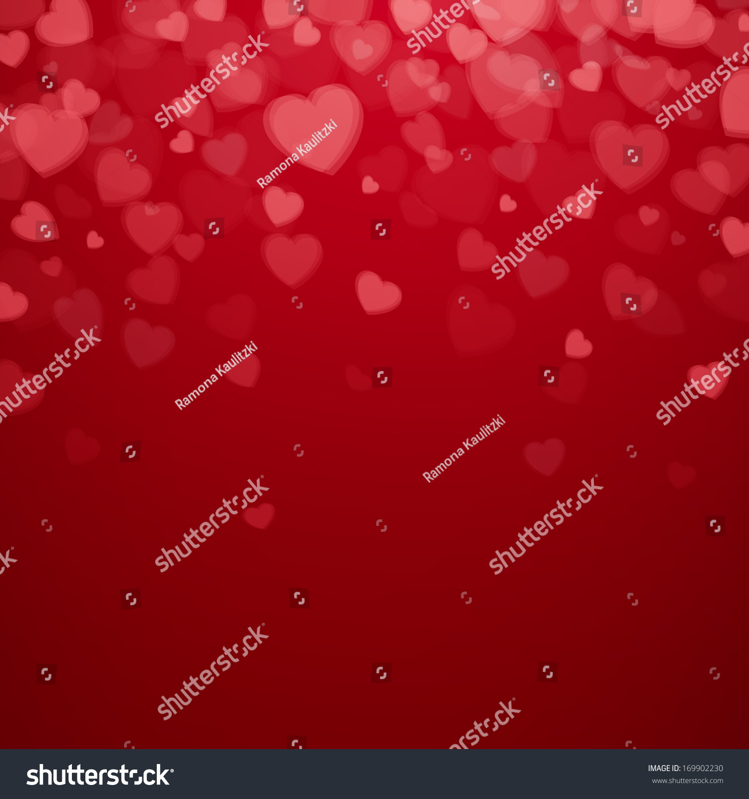 Vector Illustration Valentines Day Card Stock-Vektorgrafik ...
