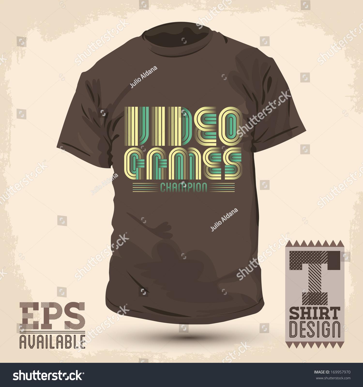 Shirt design video - Save To A Lightbox
