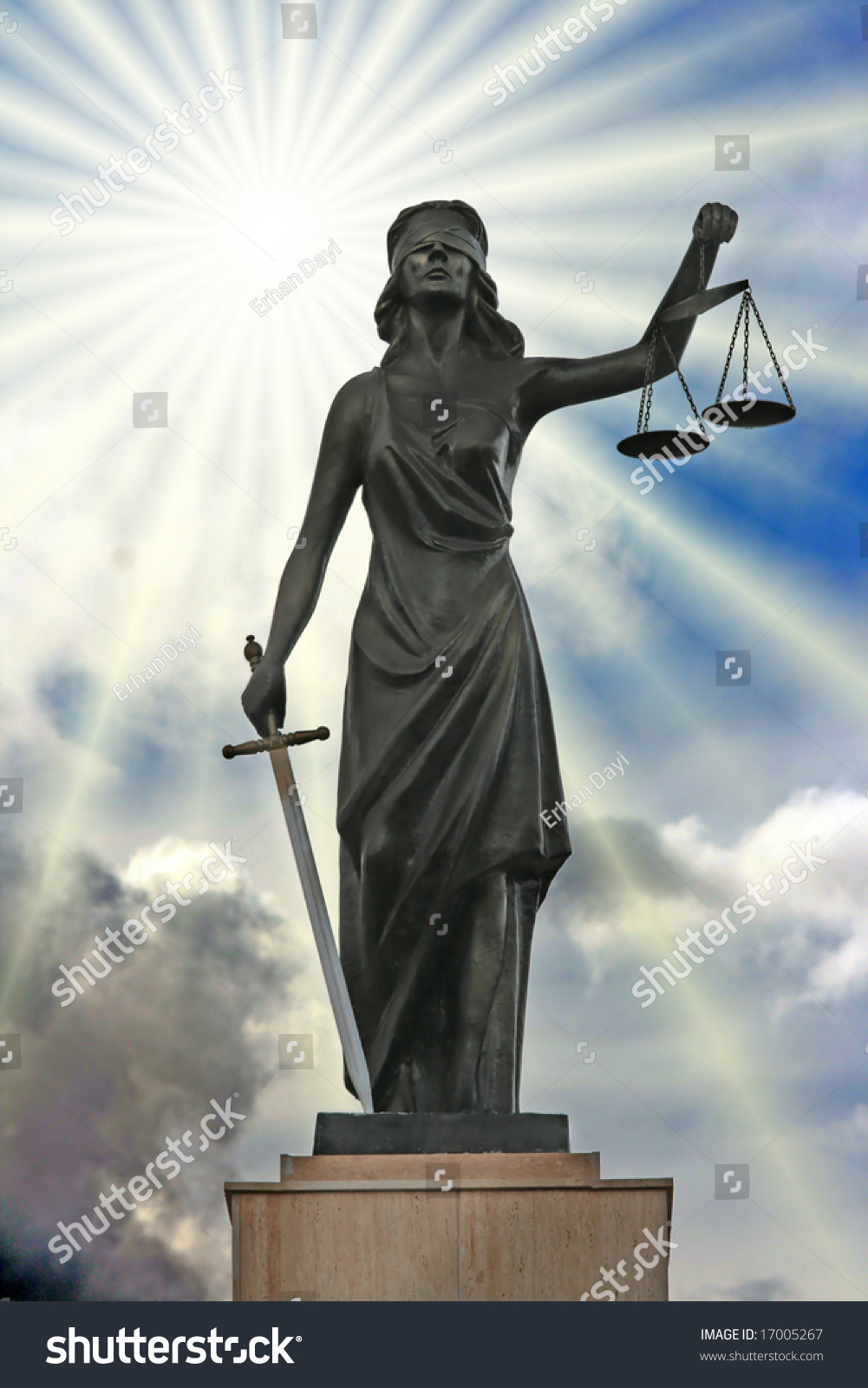 Justice Is Blind Tattoo Flickr Photo Sharing Upper Arm