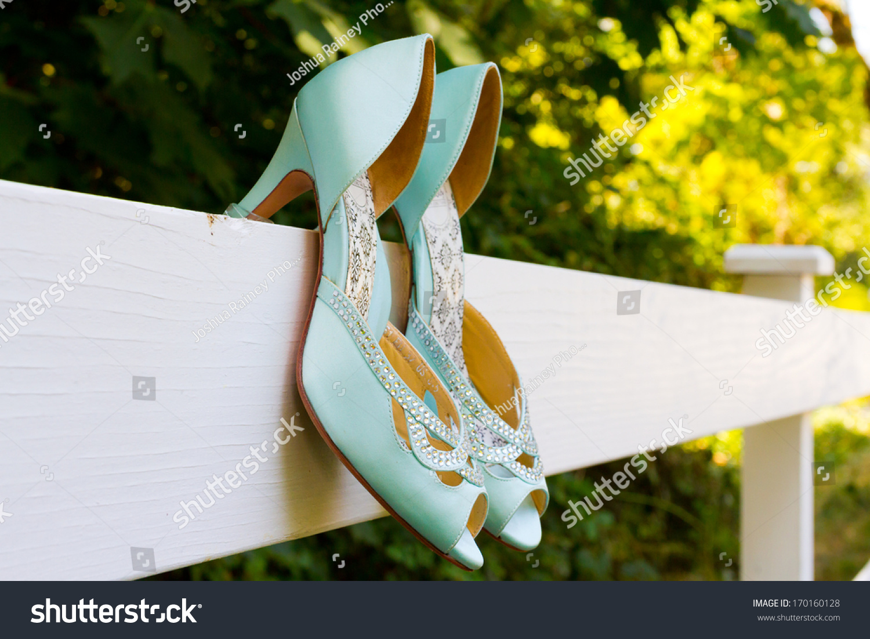 Tiffany Blue High Heel Shoes