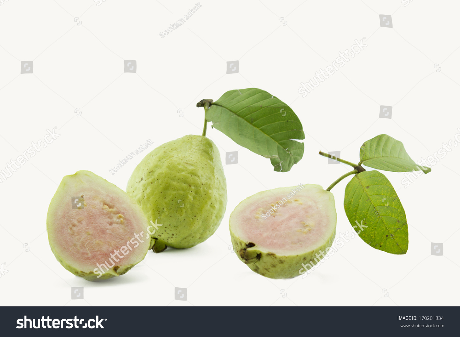 Guava Ripe Fruit Yellow Sweet With Small Hard Seeds Inside How To Eat A  Mango Without A Knife Youtube