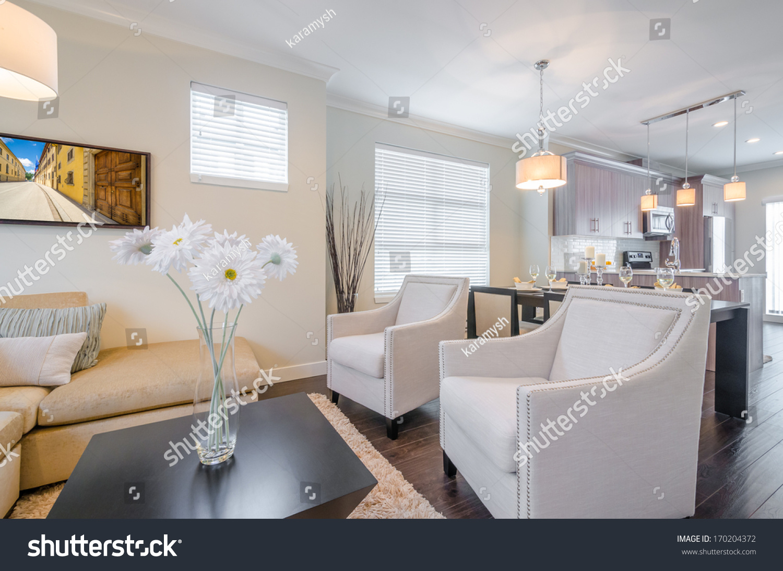 Interior Design Luxury Living Room Stock Photo (Royalty Free ...