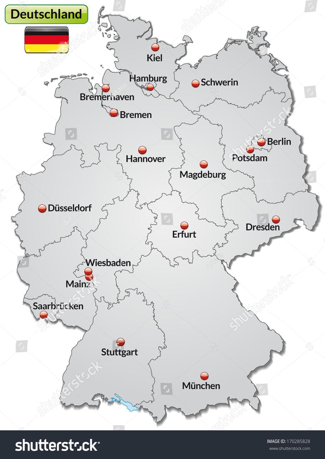 Deutschland Map\