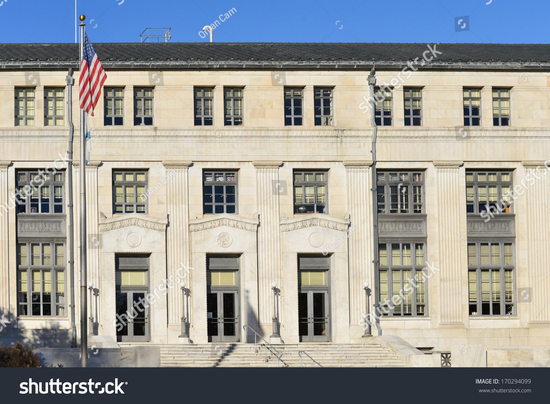 Department Interior Building Washington Dc United Stock Photo Edit
