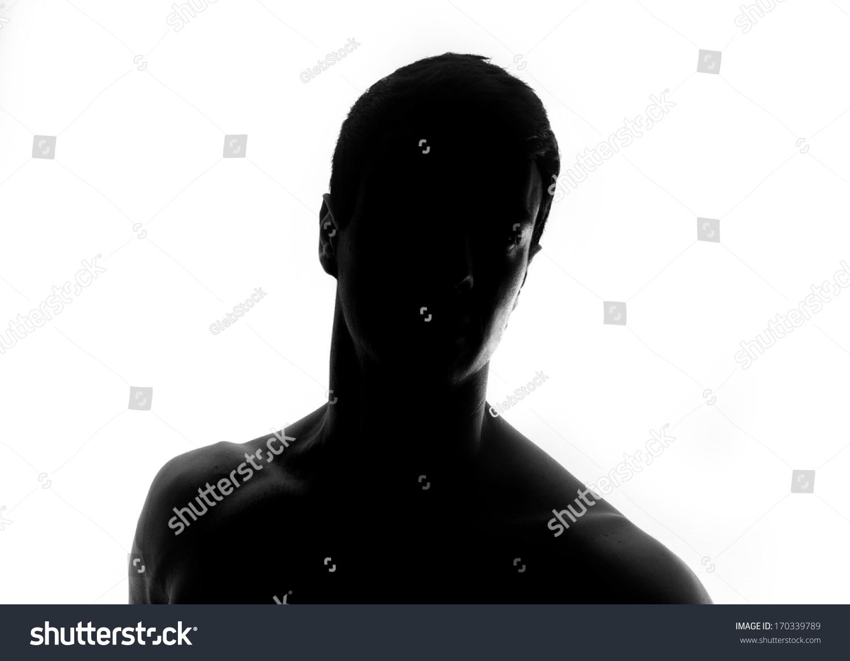 Male Silhouette Stock Photo 170339789 : Shutterstock