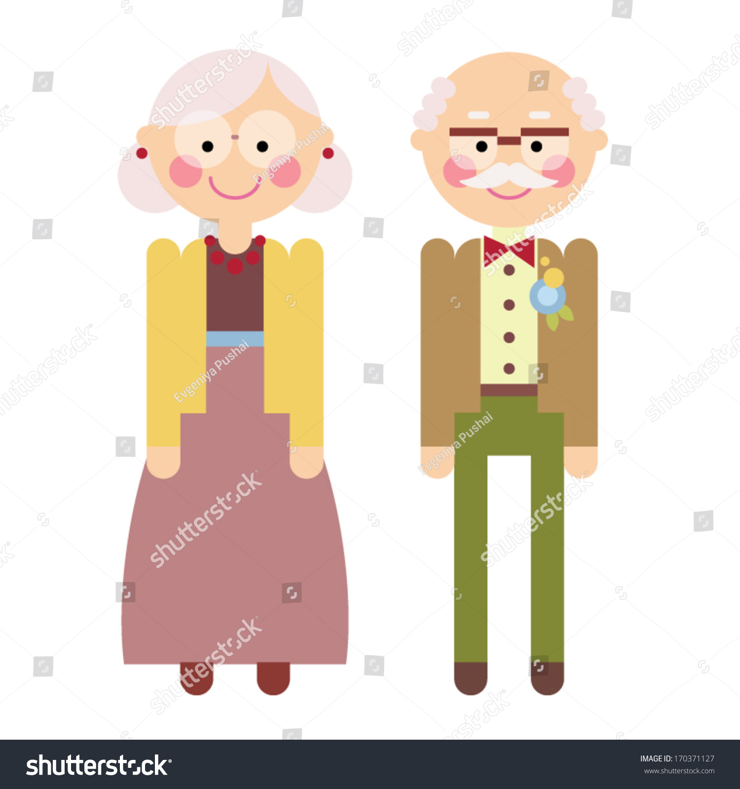Grandparents clipart