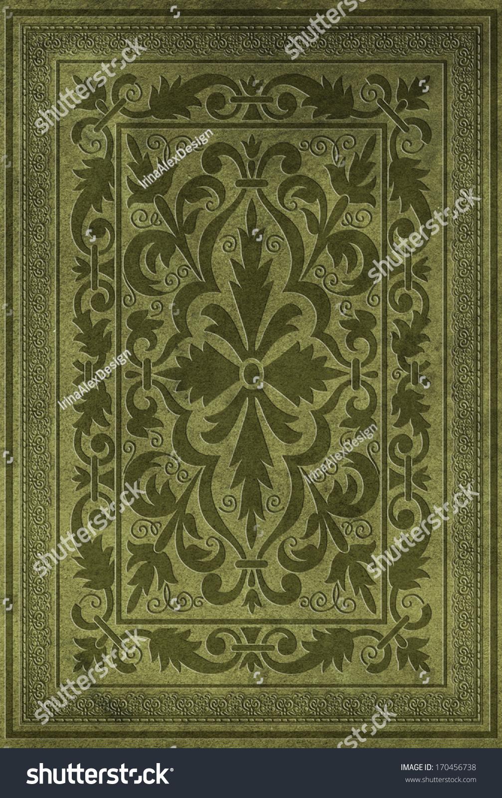 Decorative Book Cover Paper : Decorative book cover stock photo shutterstock