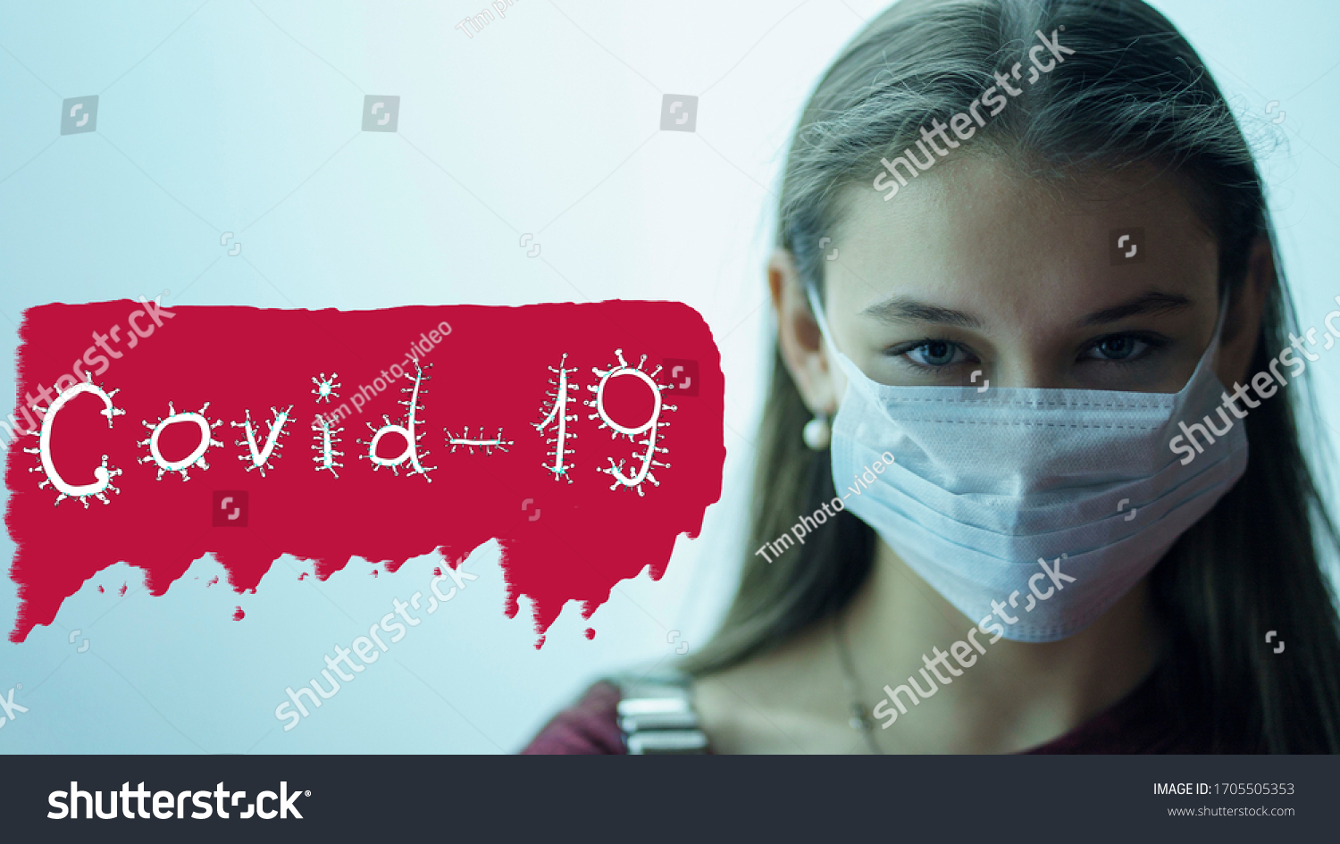 stock-photo-girl-in-a-medical-mask-from-
