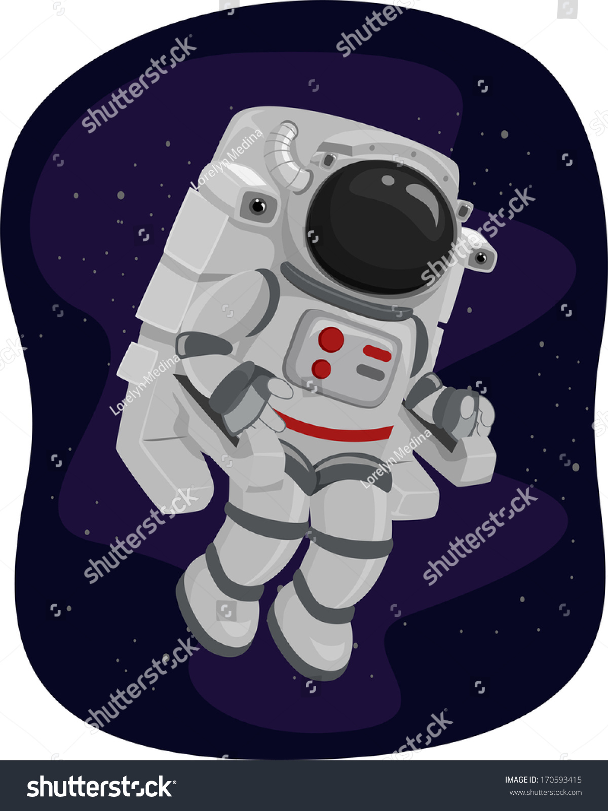an astronaut in his space suit and with a propulsion - photo #17