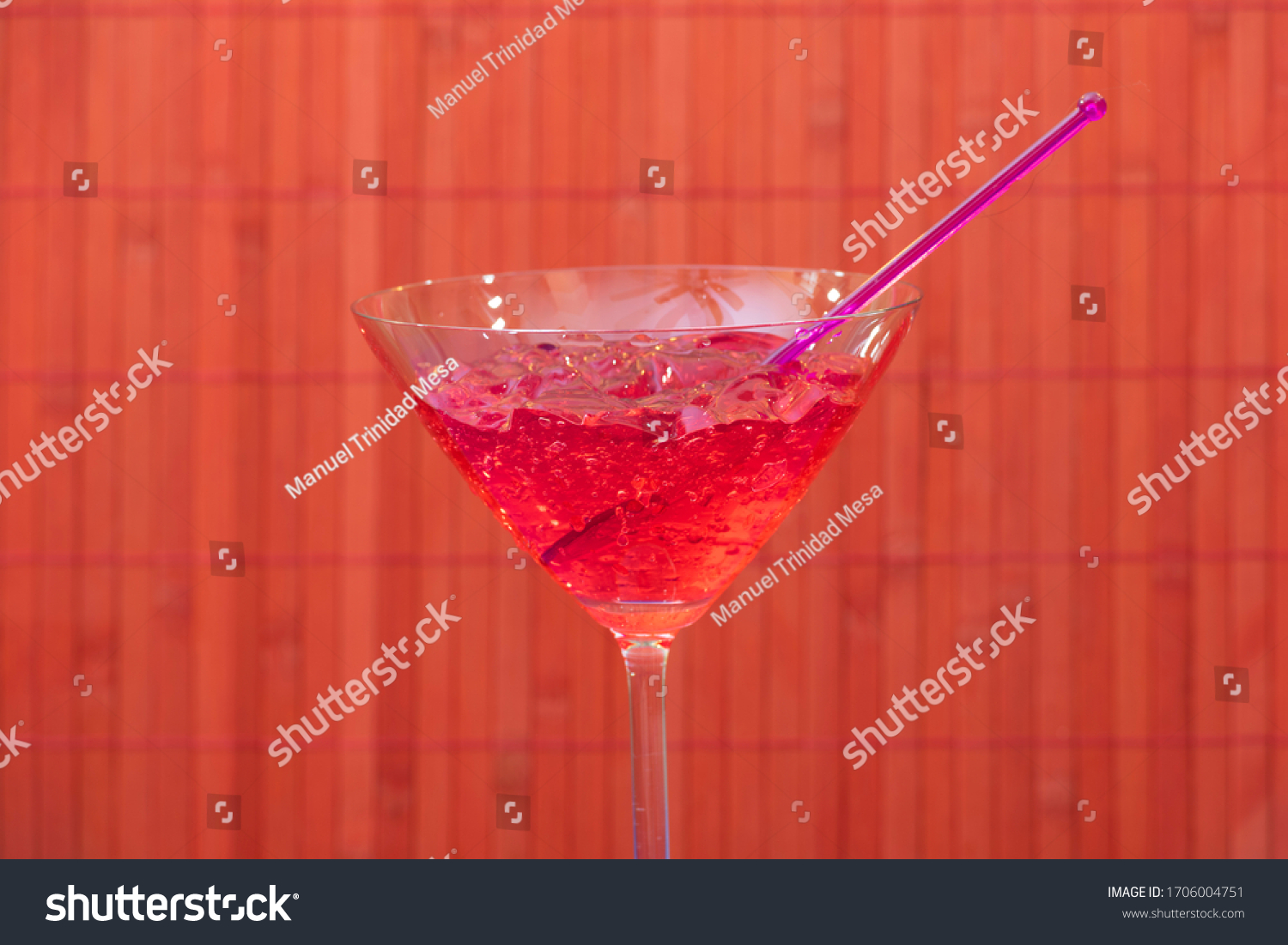 stock-photo-a-glass-with-strawberry-jell