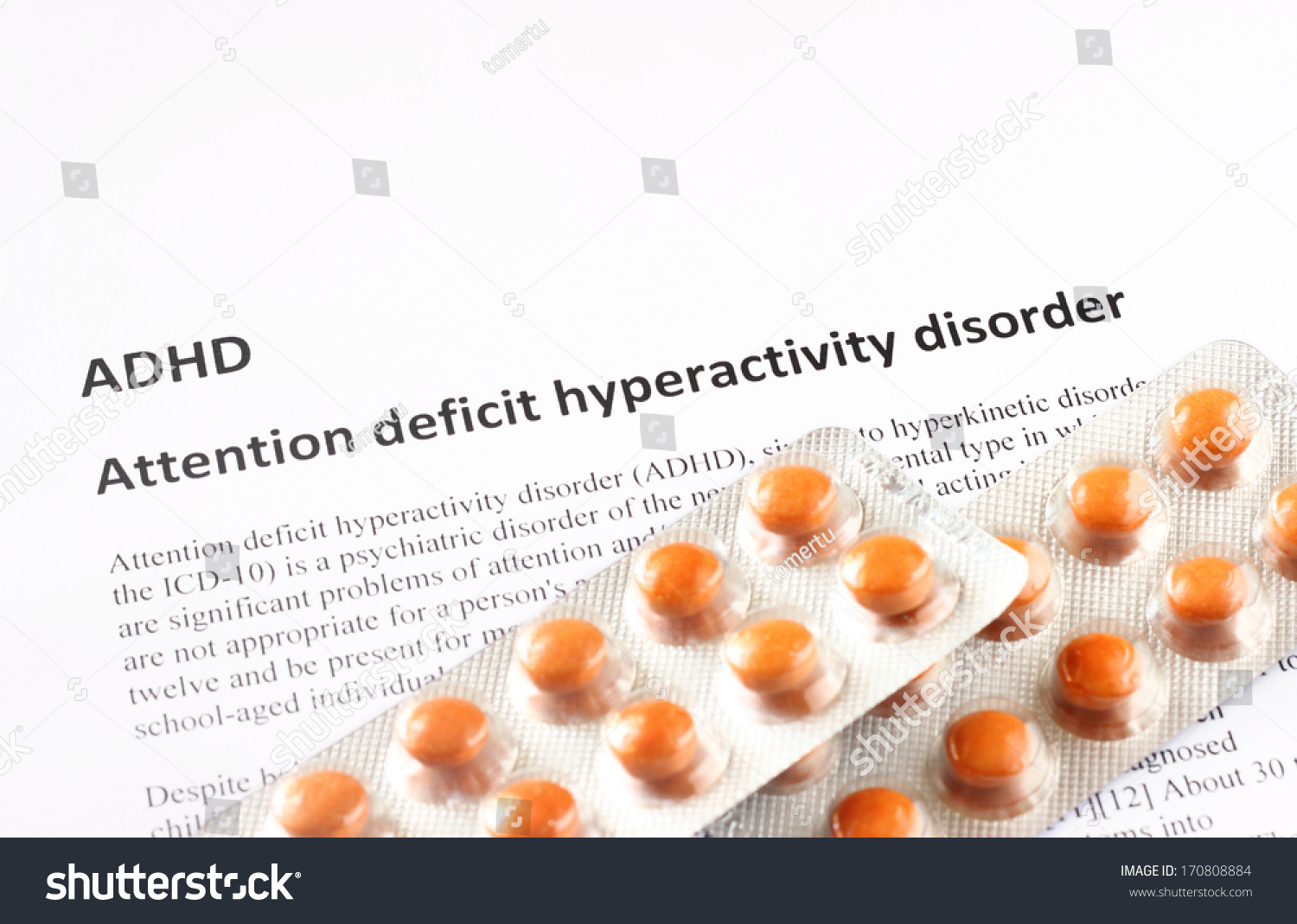 a discussion of the diagnosis and treatments of attention deficit hyperactivity Childhood adhd symptoms include impulsivity, inattention, and distractibility   what tests do specialists use to diagnose adhd in children  these should  be discussed with the treating doctor so that the right interventions can be.