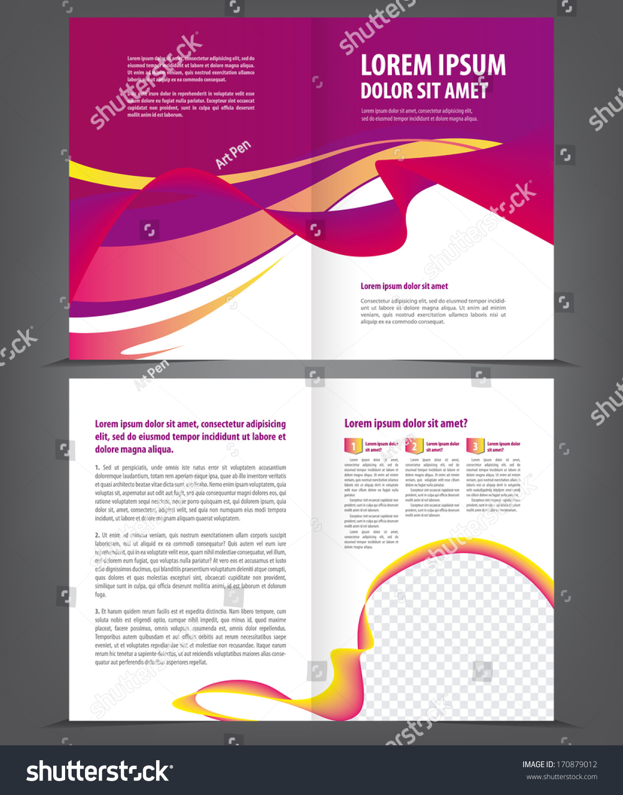 Famous 1 Page Website Template Thick 10 Best Resume Writers Regular 100 Square Pool Template 1099 Employee Contract Template Youthful 2 Column Notes Template Pink2 Page Resume Format Doc Twofold Beauty Violet Brochure Print Template Stock Vector ..