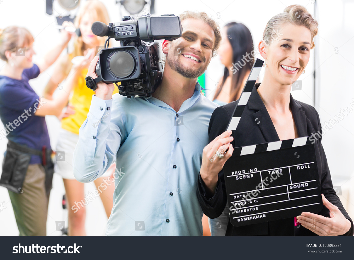 how to become a cameraman