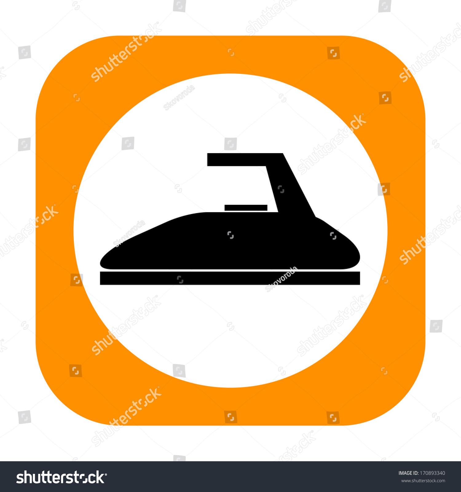Steam Iron Icon ~ Steam iron icon stock illustration shutterstock