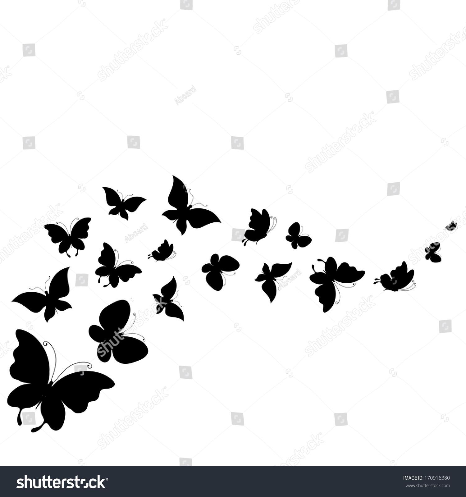 butterflies design stock vector 170916380 shutterstock