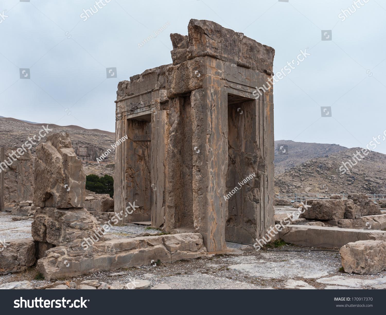 Ancient City Persepolis Iran Apadana Xerxes Stock Photo Edit Now 170917370