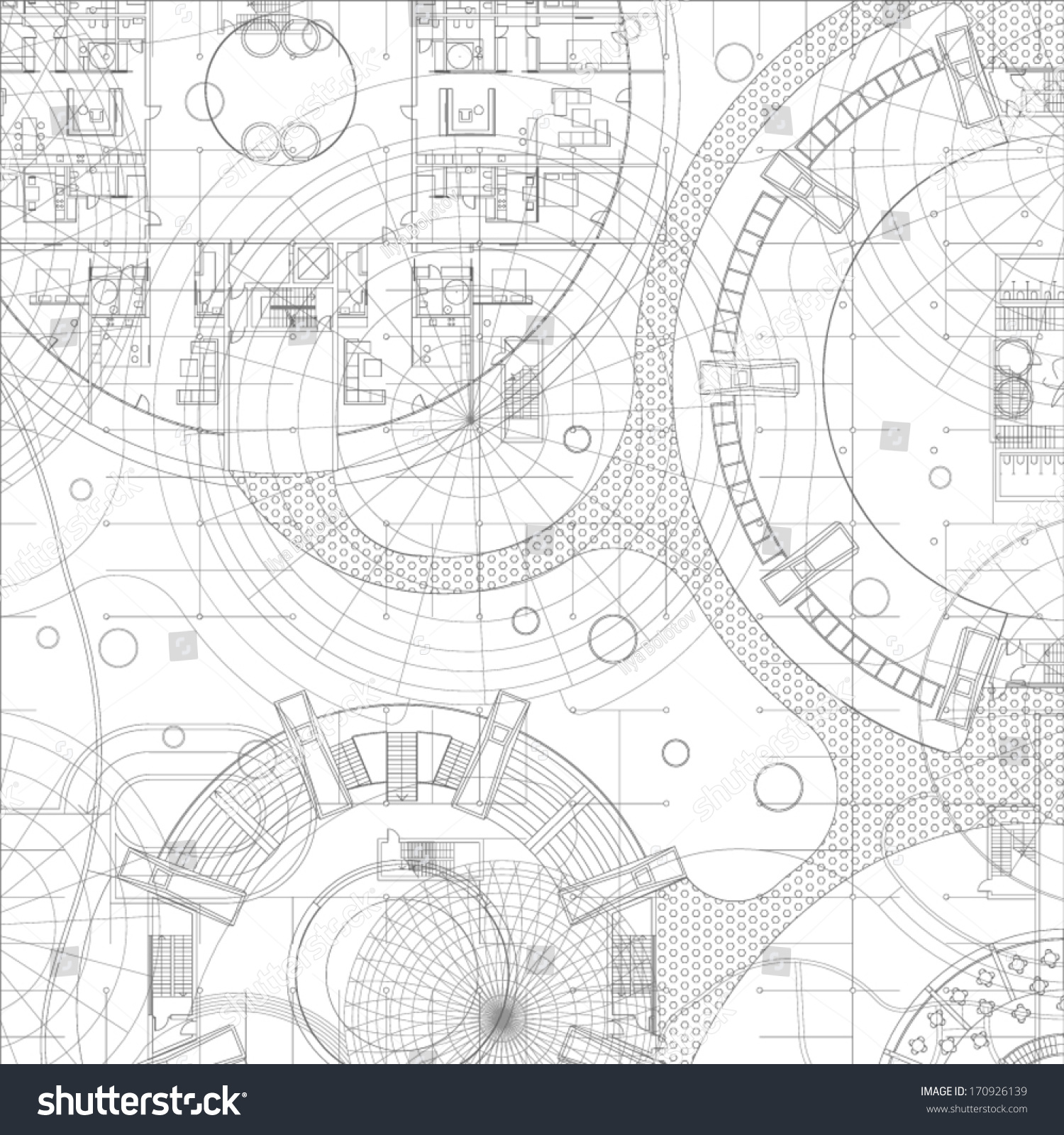 Delighful Architectural Drawing Blueprint Plan In Design