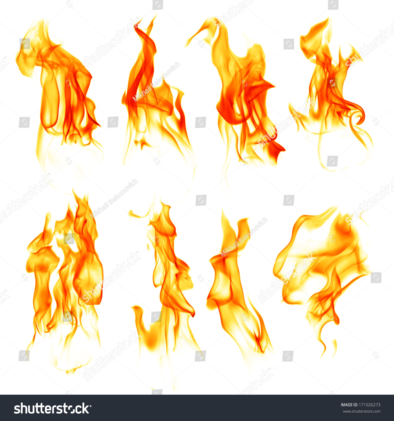 fire on white background fire flames isolated on white background stock 3297