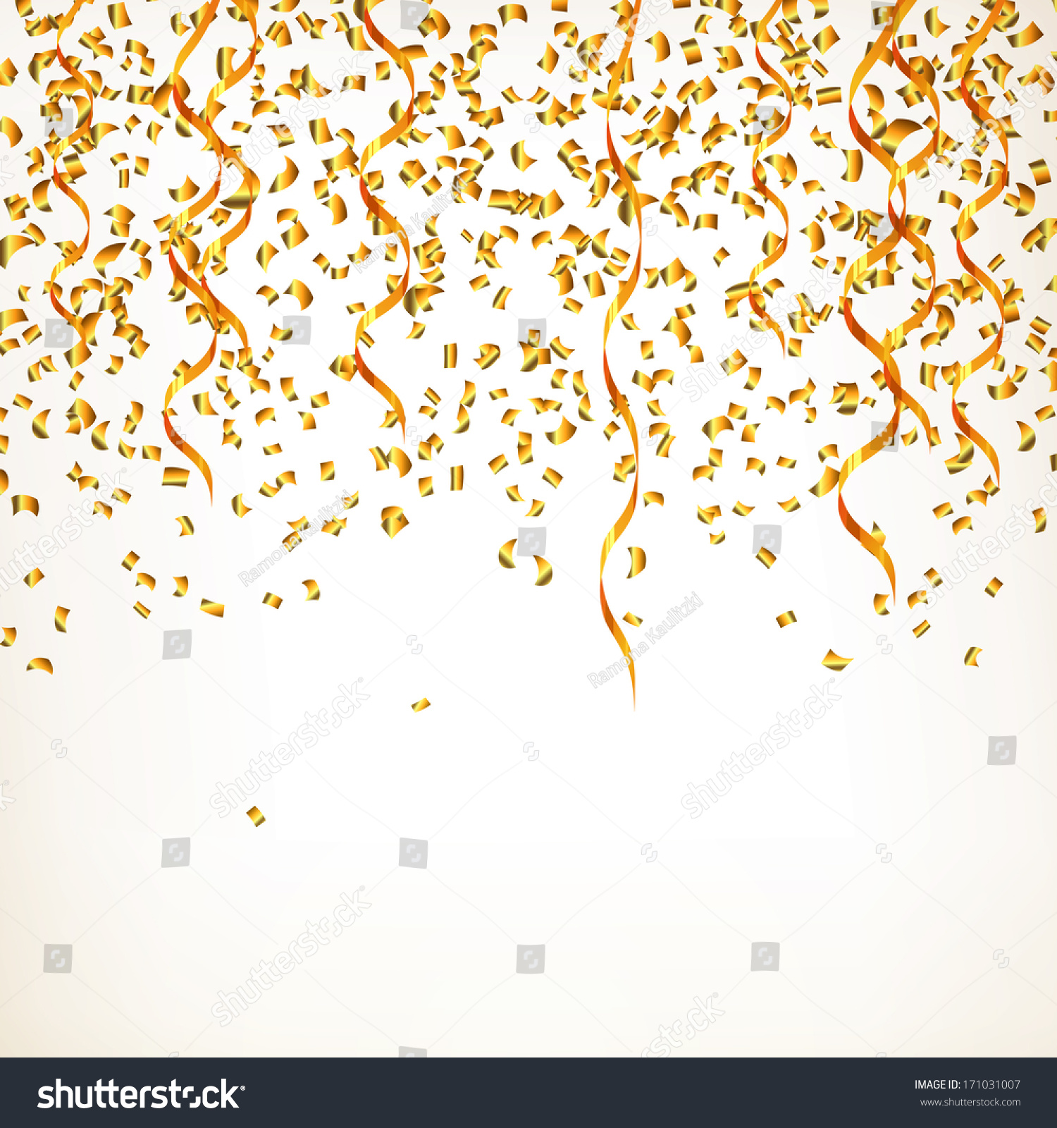gold party vector - photo #36