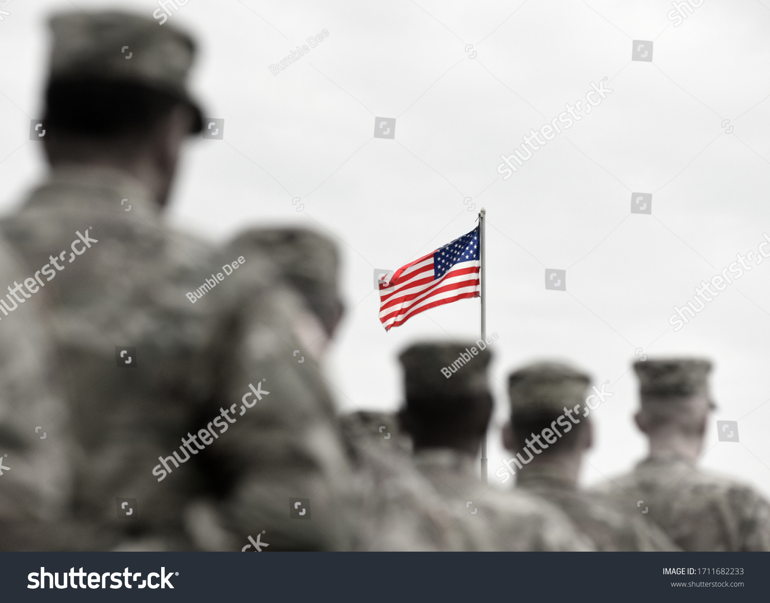 Memorial day. Veterans Day. US soldiers. US Army. The United States Armed Forces. Military forces of the United States of America. #1711682233