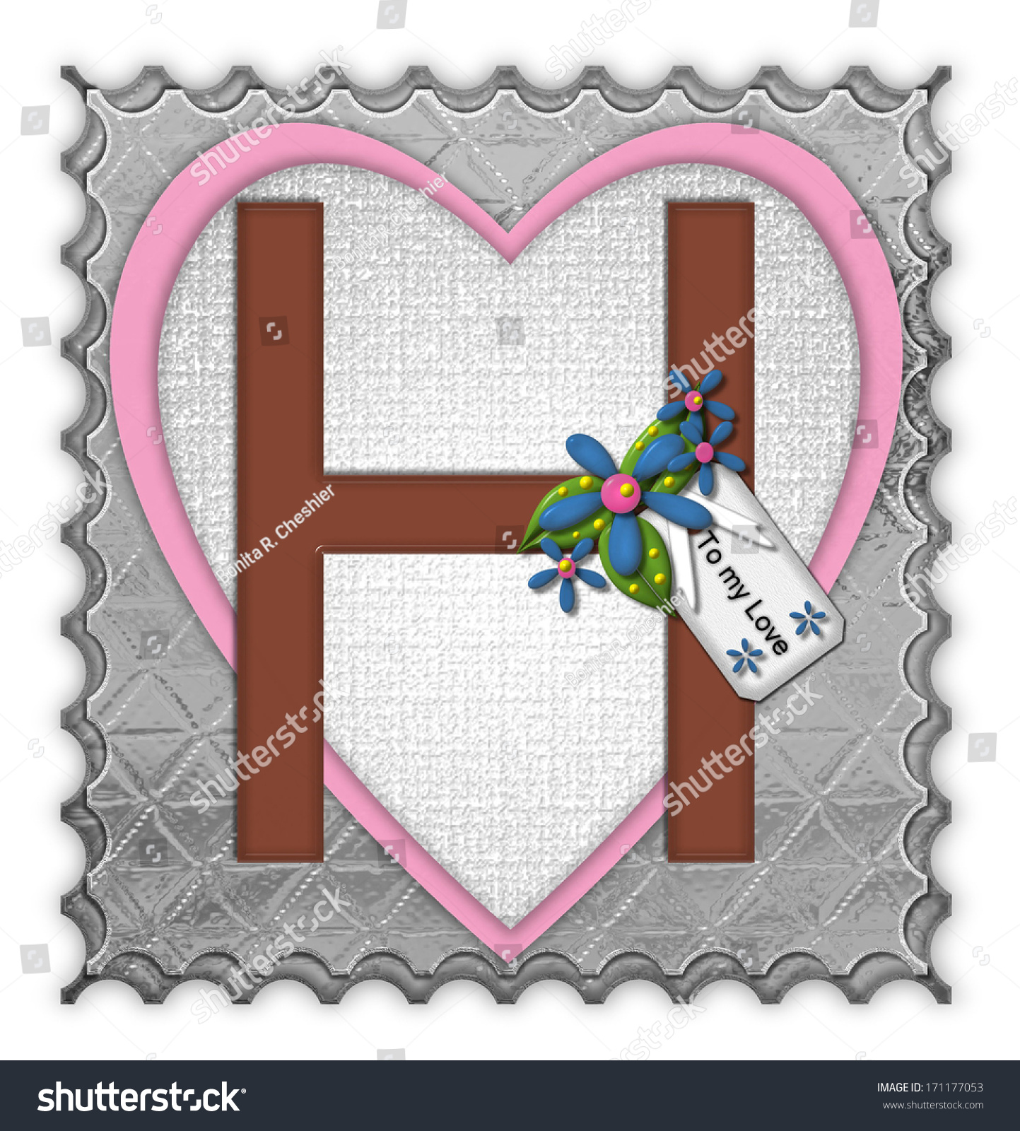 H tag background image - The Letter H In The Alphabet Set Chocolate Box Is A Chocolate