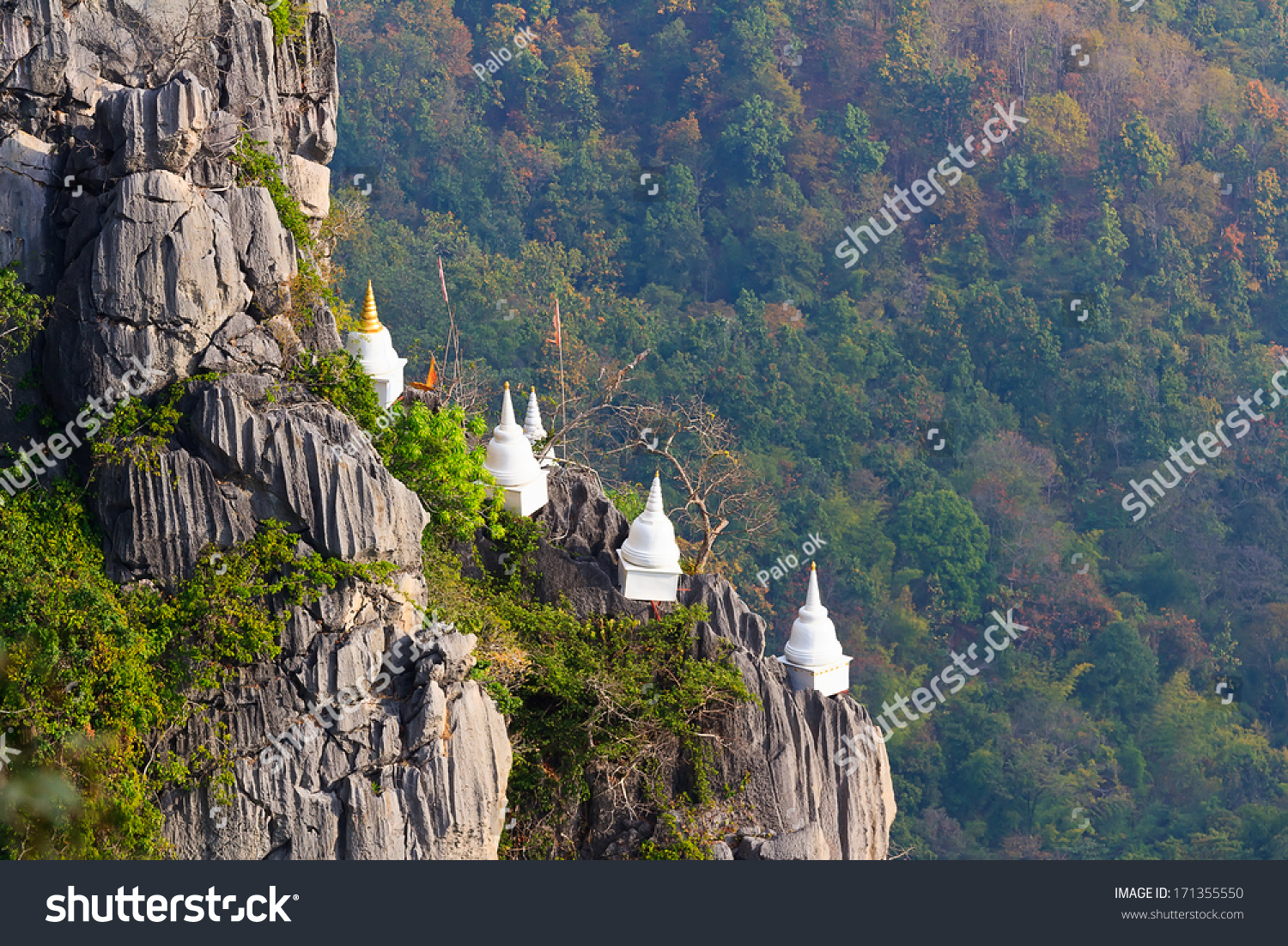 Stock Photo Chalermprakiet Temple L ang Thailand on flat preview
