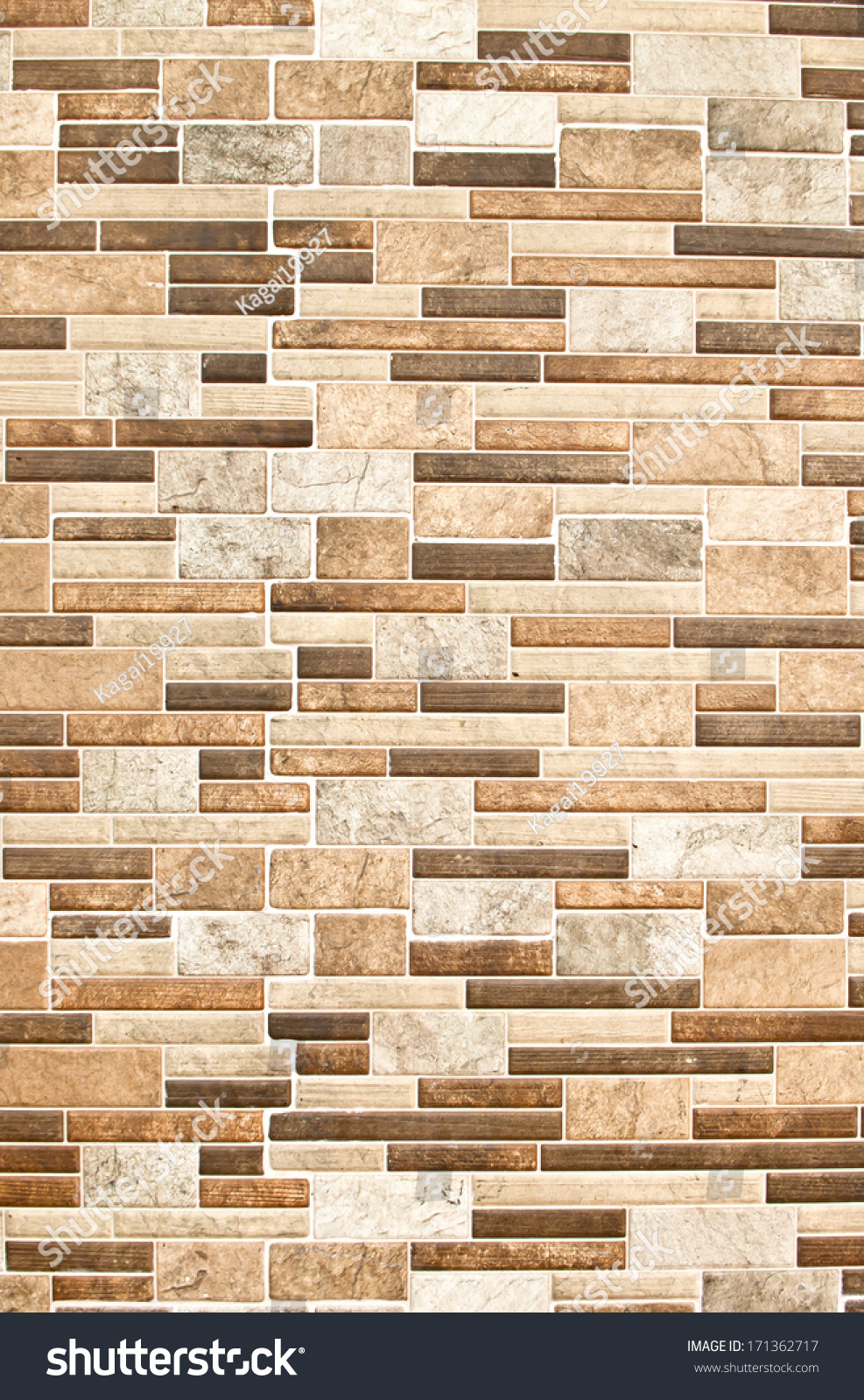 Modern ceramic tile wall construction wall stock photo for Modern ceramic tile