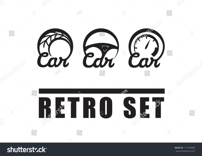 Vintage car symbols retro set auto stock vector 171476840 vintage car symbols retro set of auto icons biocorpaavc Gallery