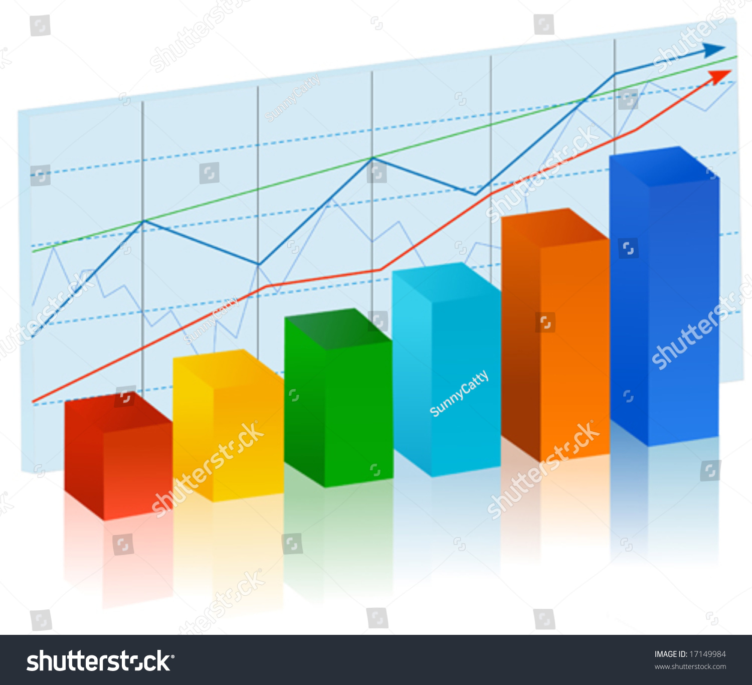 finance stat   multicolor bar diagram stock vector illustration    finance stat   multicolor bar diagram stock vector illustration     shutterstock