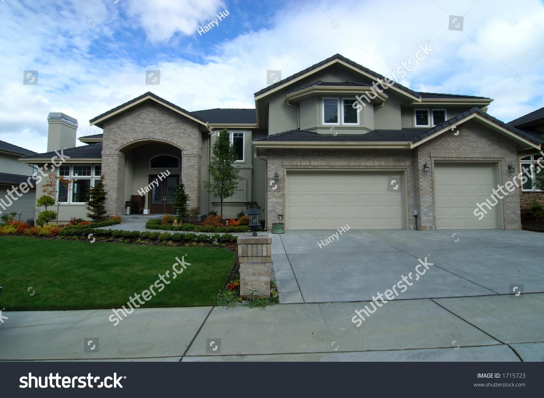 American Modern House Stock Photo 1715723 Shutterstock