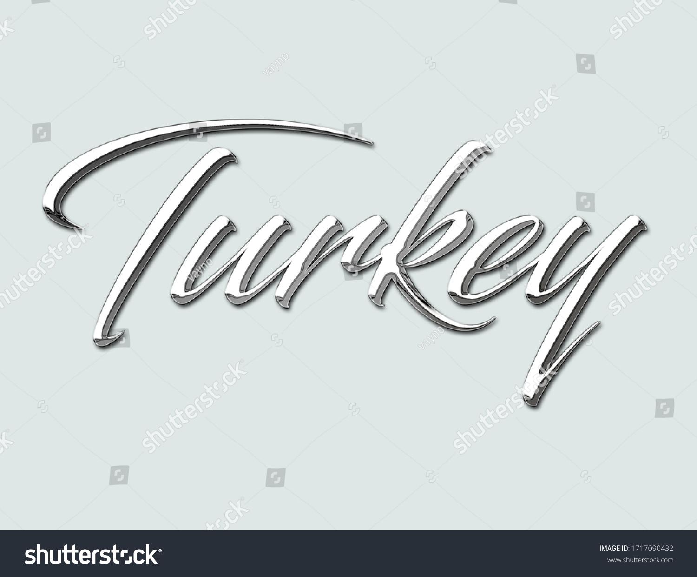 stock-photo--isolated-metallic-turkey-te