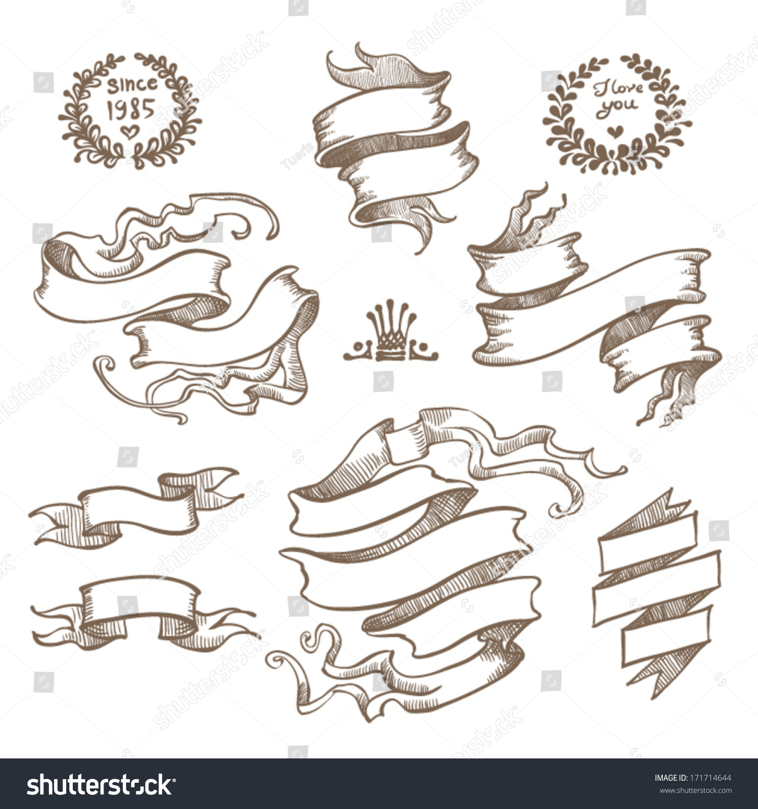 Vintage Scroll Banner Stock Images, Royalty-Free Images ...
