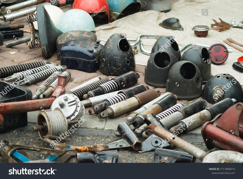 stock-photo-flea-market-parts-and-compon