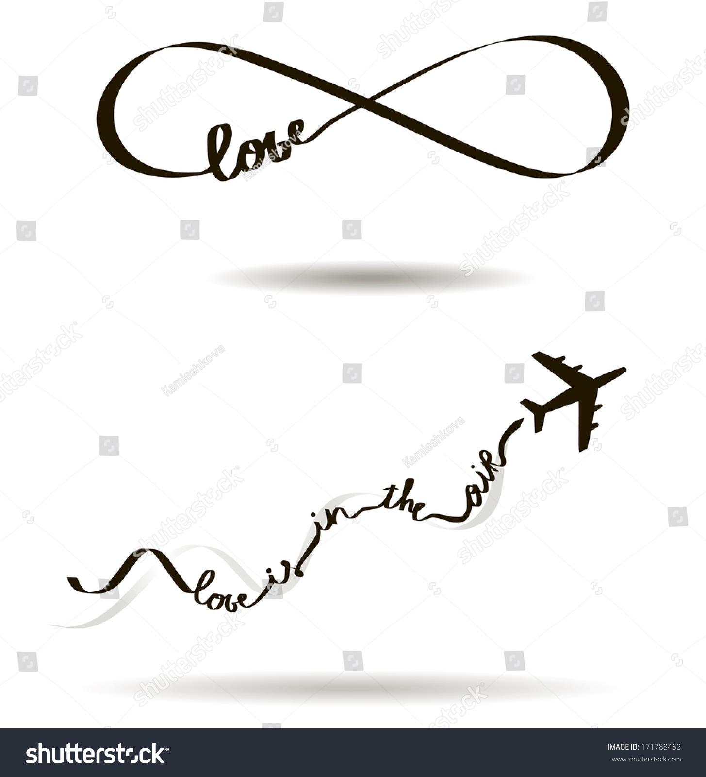 Eternal Love Icon Valentines Day Symbol Stock Illustration 171788462