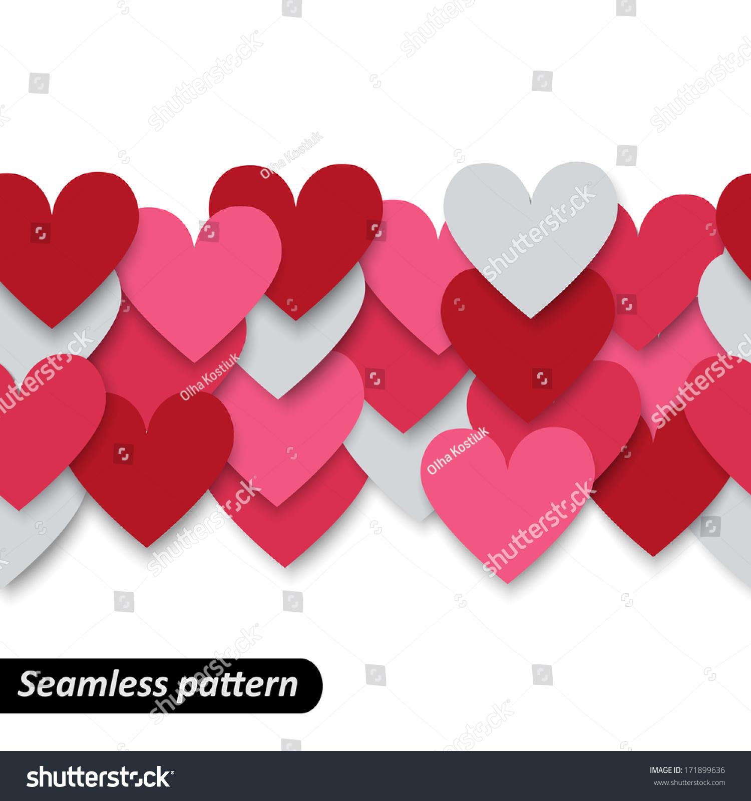 holiday hearts wallpaper vector - photo #22