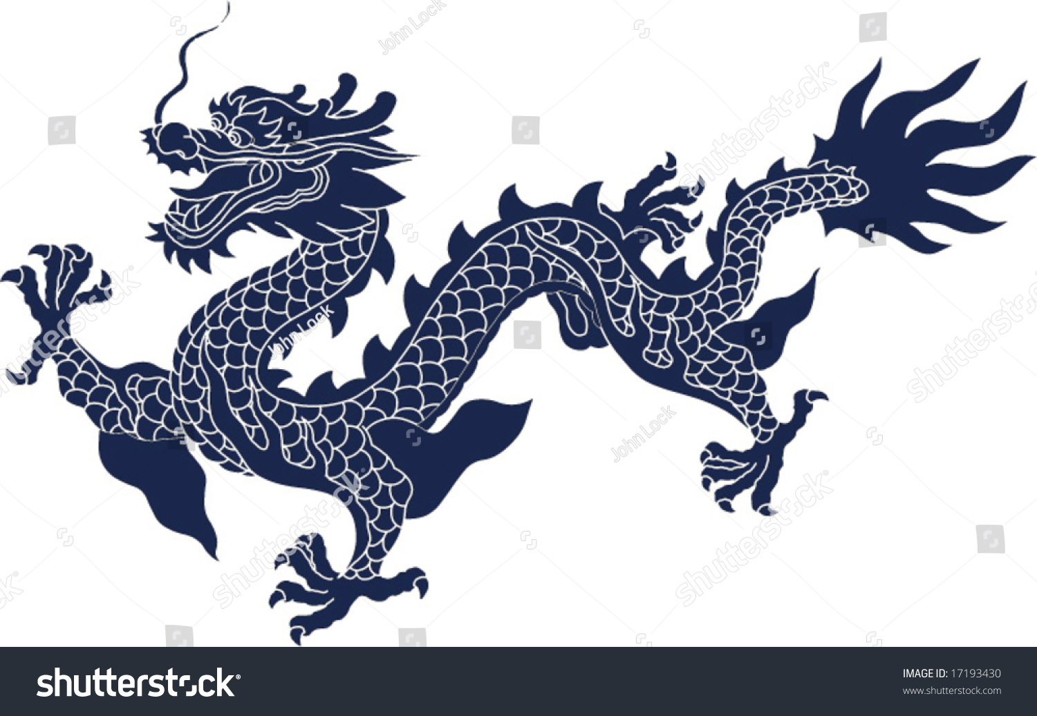 Vector chinese ancient dragon pattern stock vector 17193430 vector of chinese ancient dragon pattern buycottarizona
