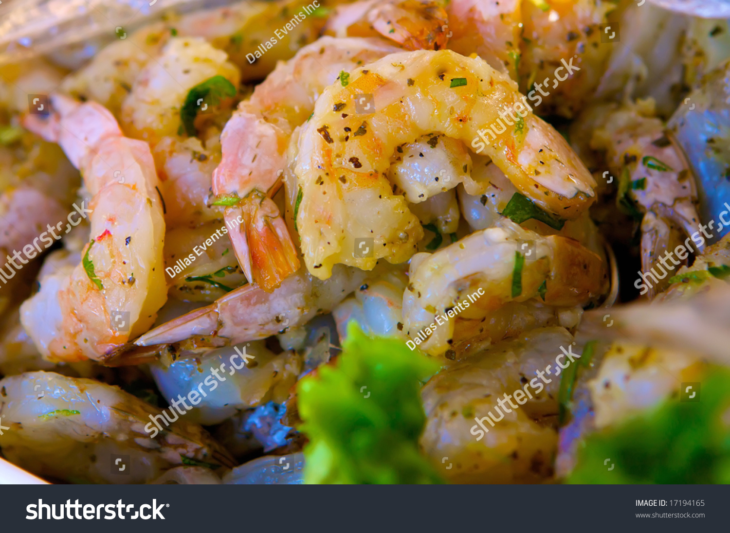 An Image Of Decadent Seasoned Sauteed Shrimp Stock Photo ...