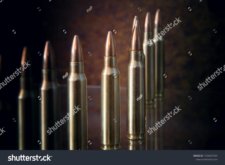 Ammunition for firearms. (long firearms) #1720697344