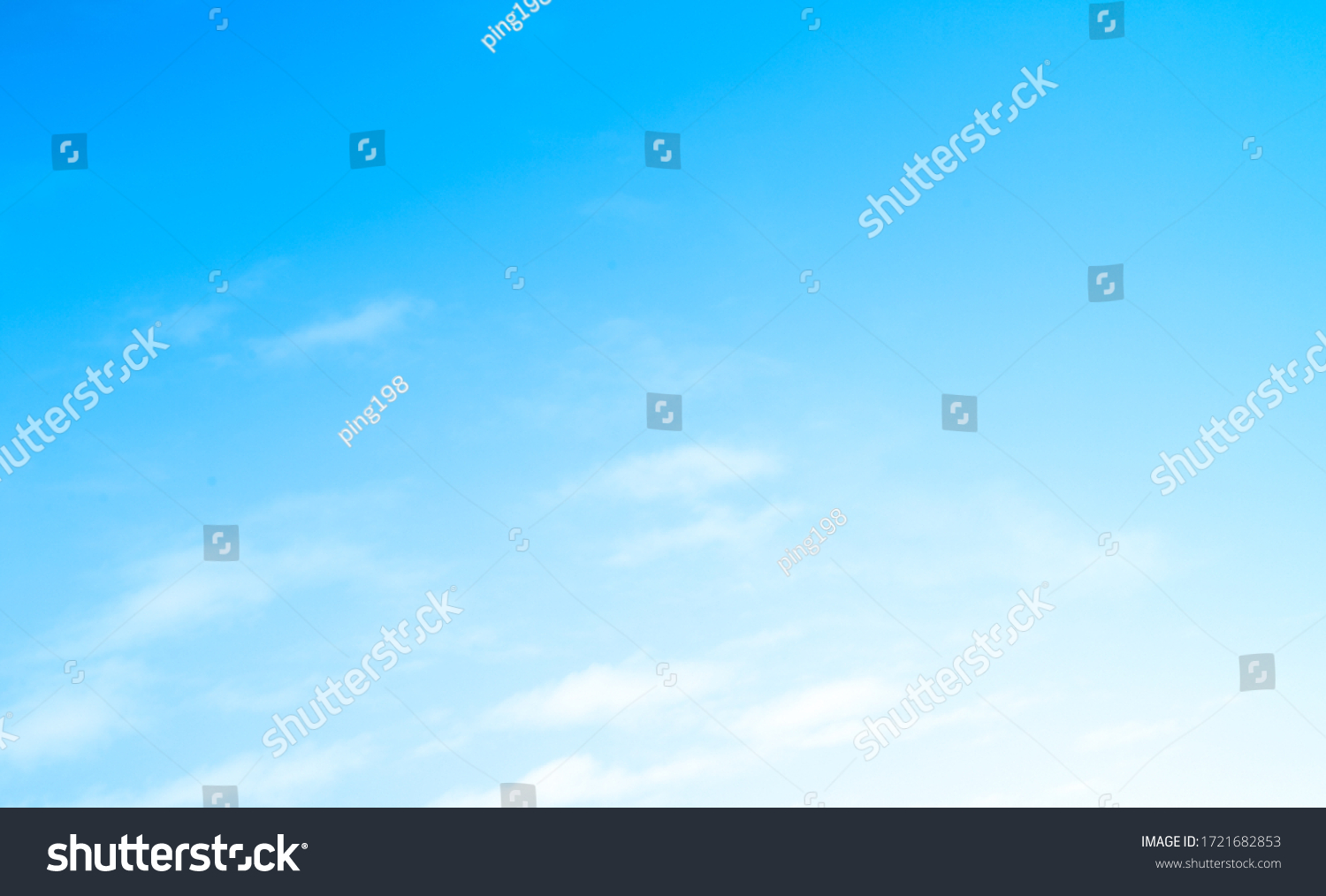 blue sky with beautiful natural white clouds #1721682853