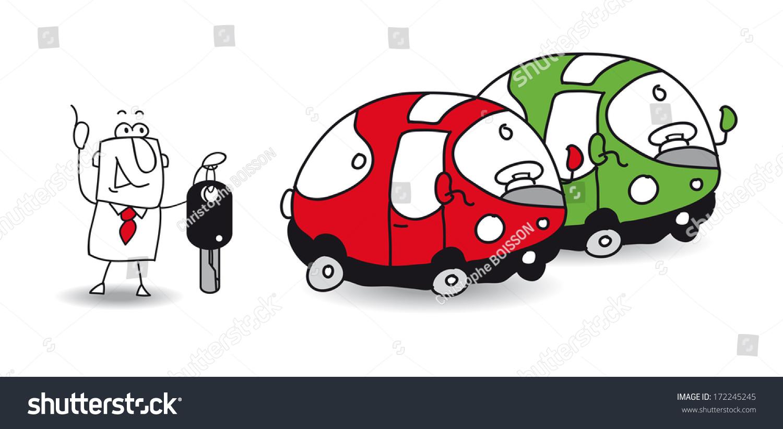 i want to rent a car stock vector illustration 172245245 shutterstock. Black Bedroom Furniture Sets. Home Design Ideas