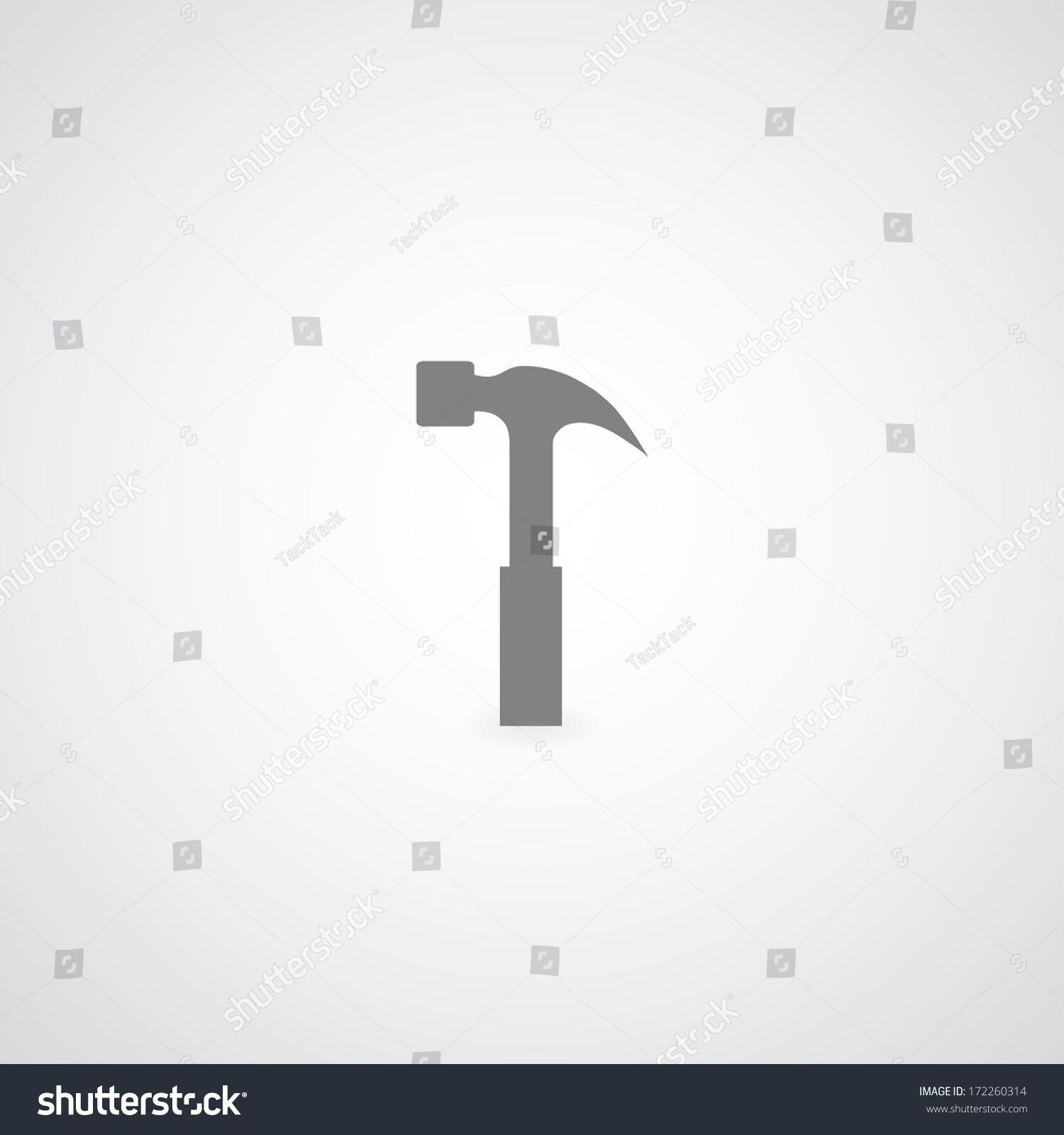 Hammer Black Icon Ez Canvas