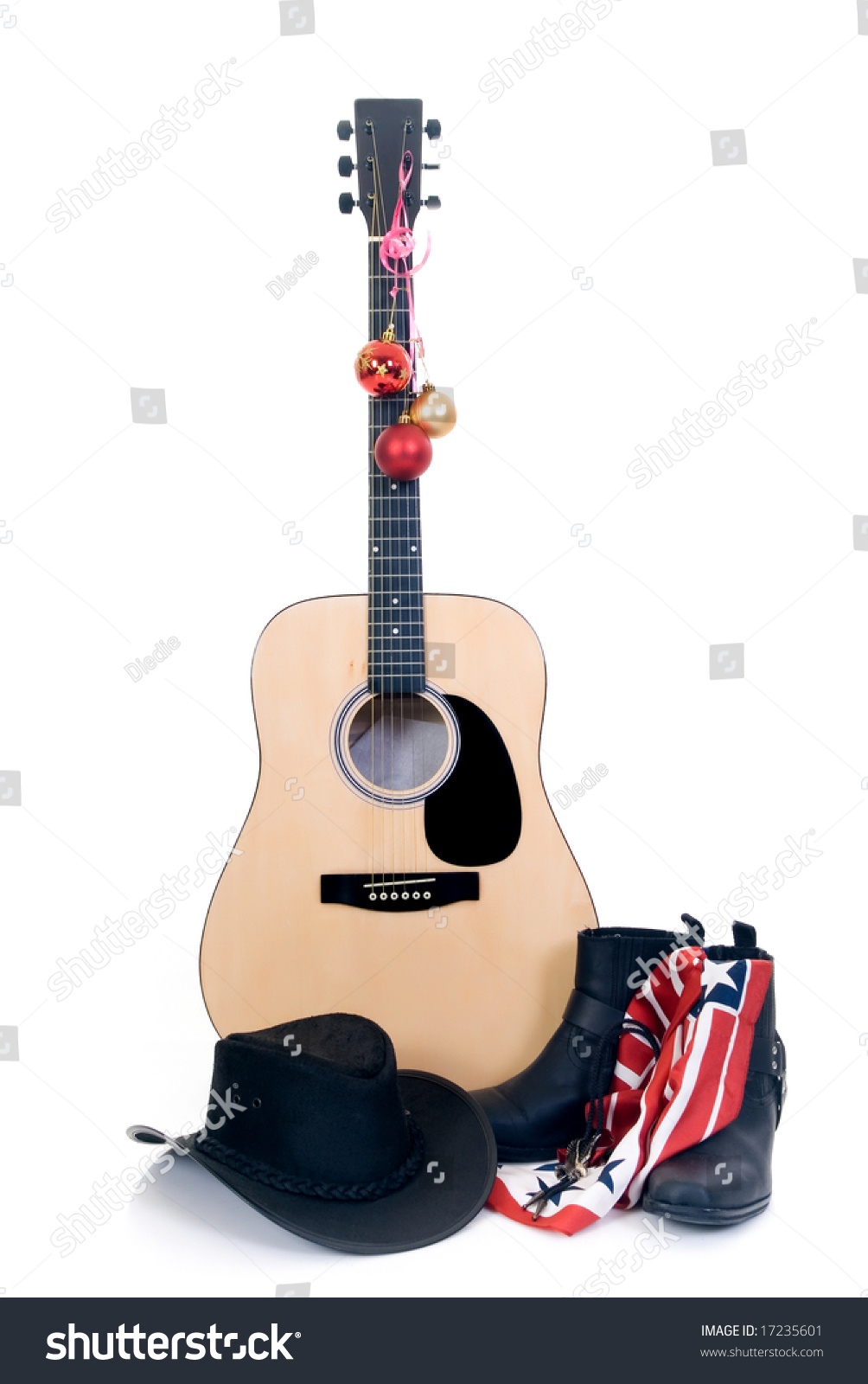 Buy Boots cowboy and hat and guitar photo picture trends