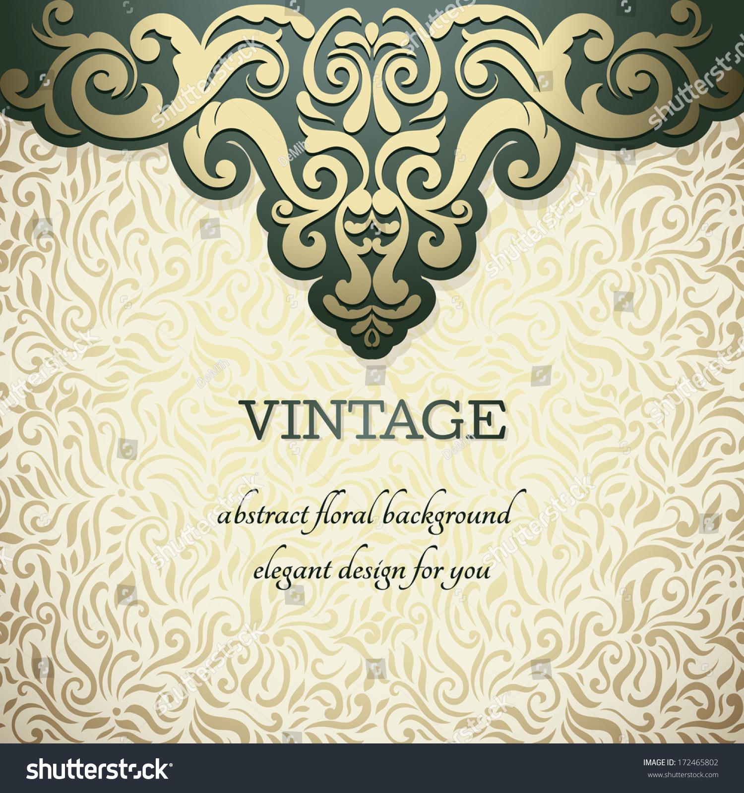 elegant vintage floral backgrounds