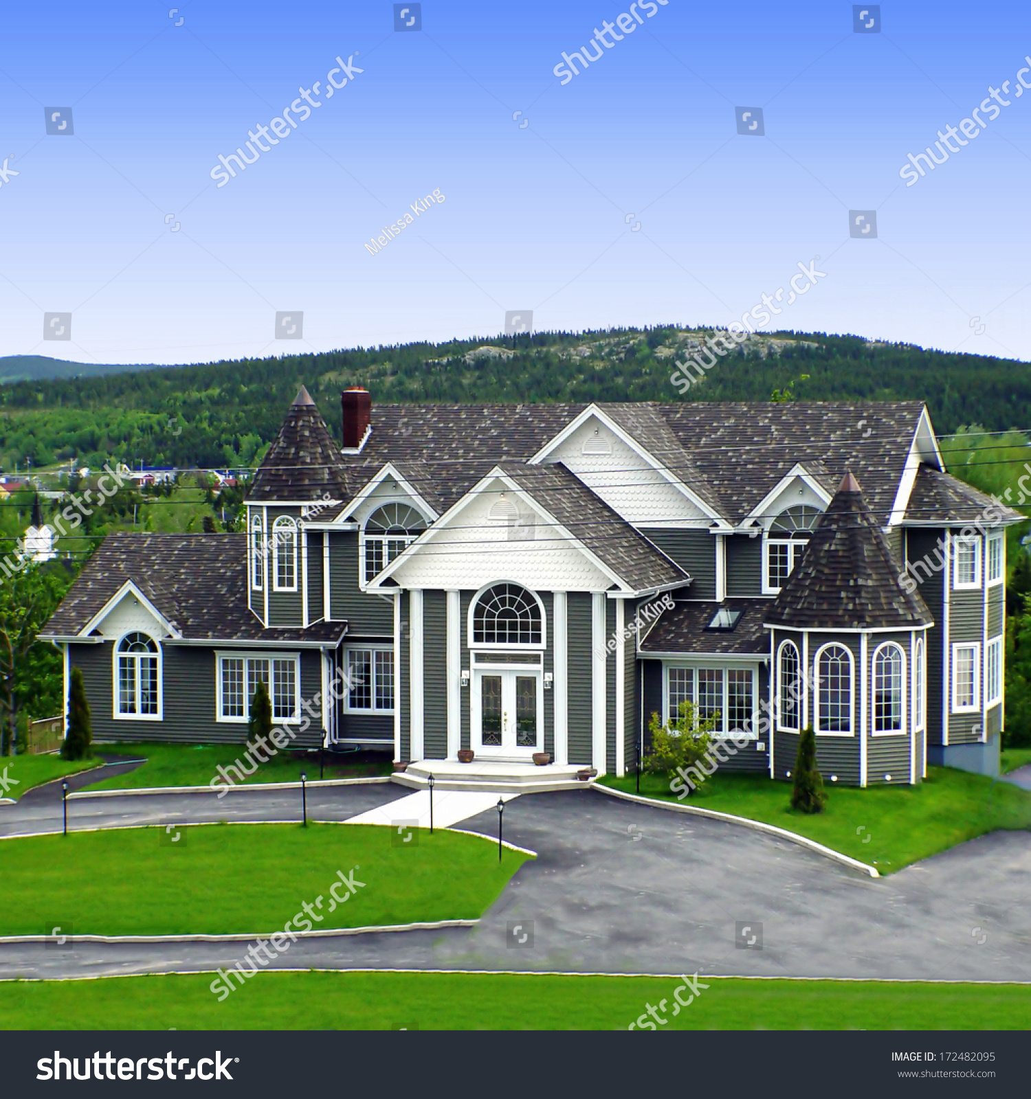 Big house rural newfoundland stock photo 172482095 for House plans newfoundland