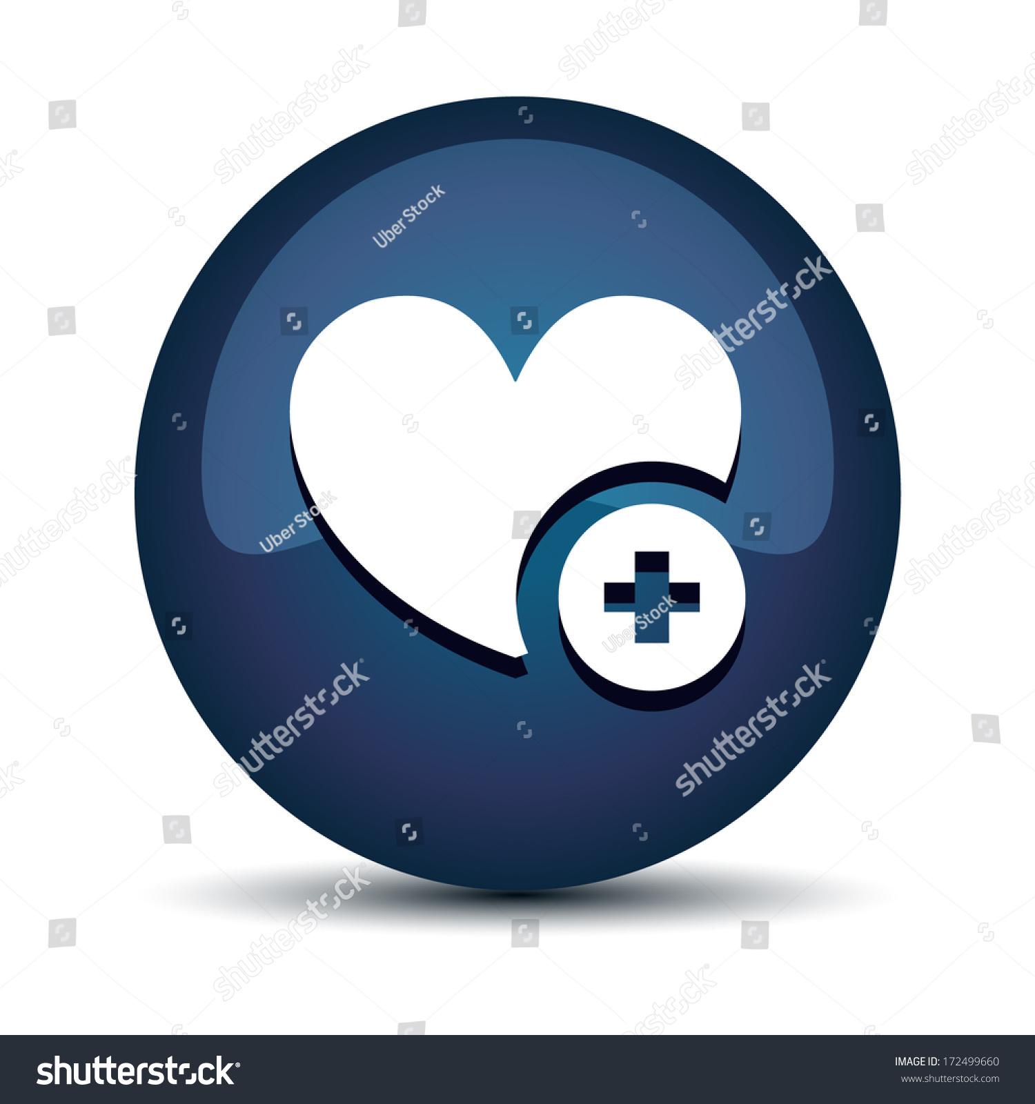 Heart icon stock vector 172499660 shutterstock heart icon buycottarizona