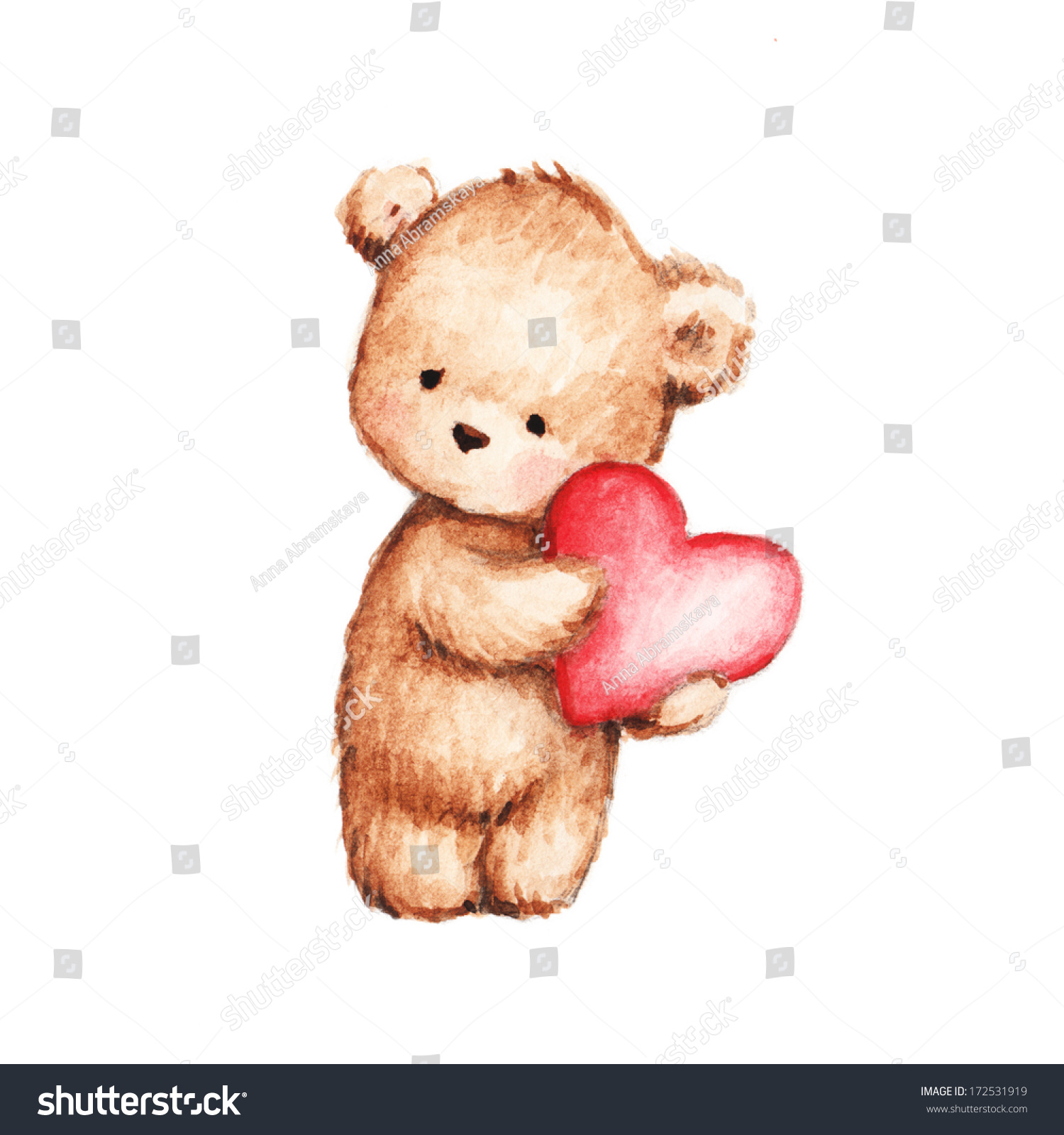 Uncategorized Drawing Of Teddy Bears drawing cute teddy bear heart stock illustration 172531919 of with heart