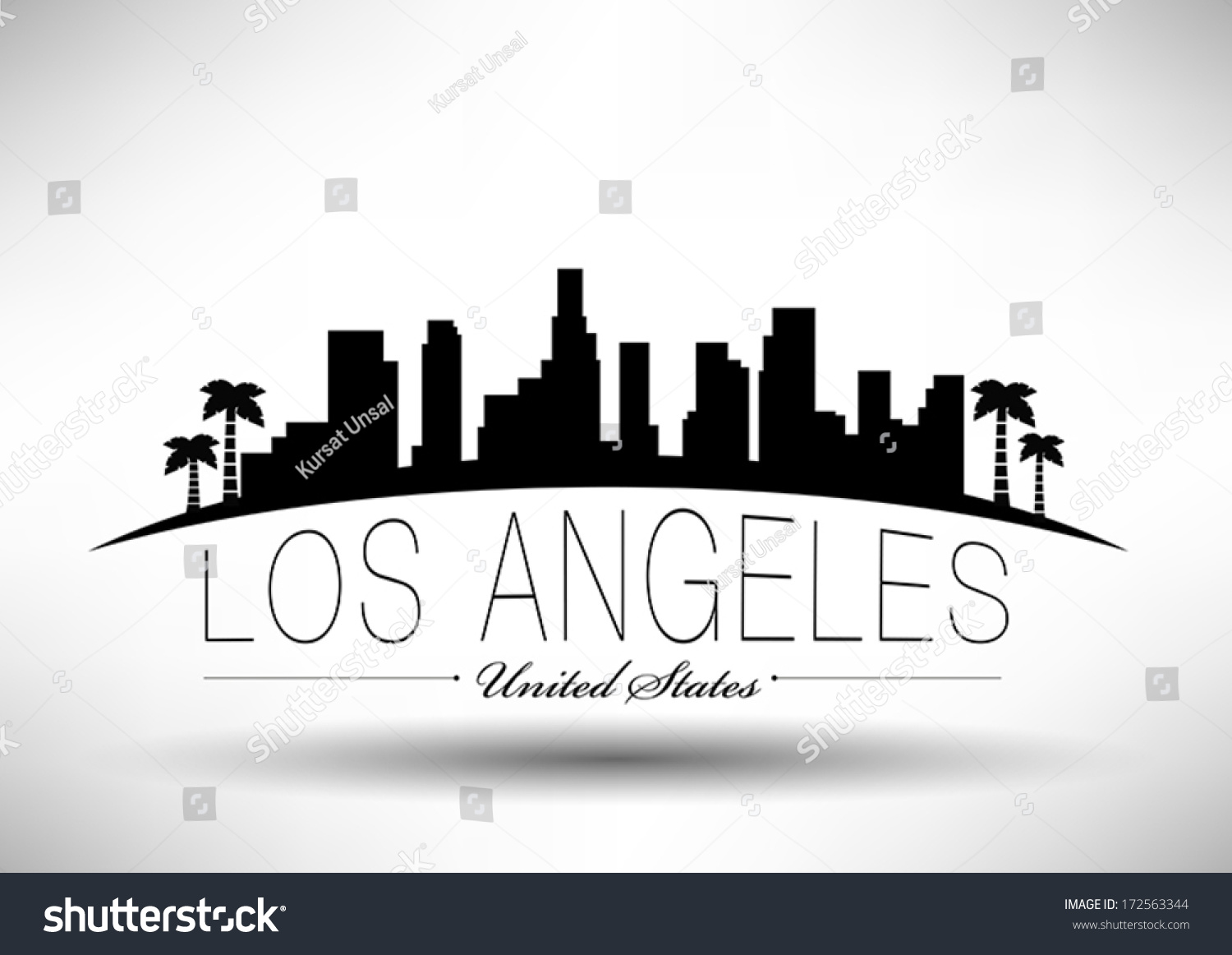 clipart los angeles - photo #5