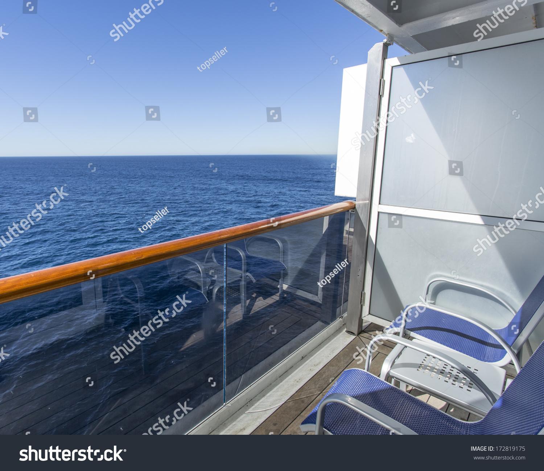 Balcony of luxury cruise ship stock photo 172819175 for All balcony cruise ship