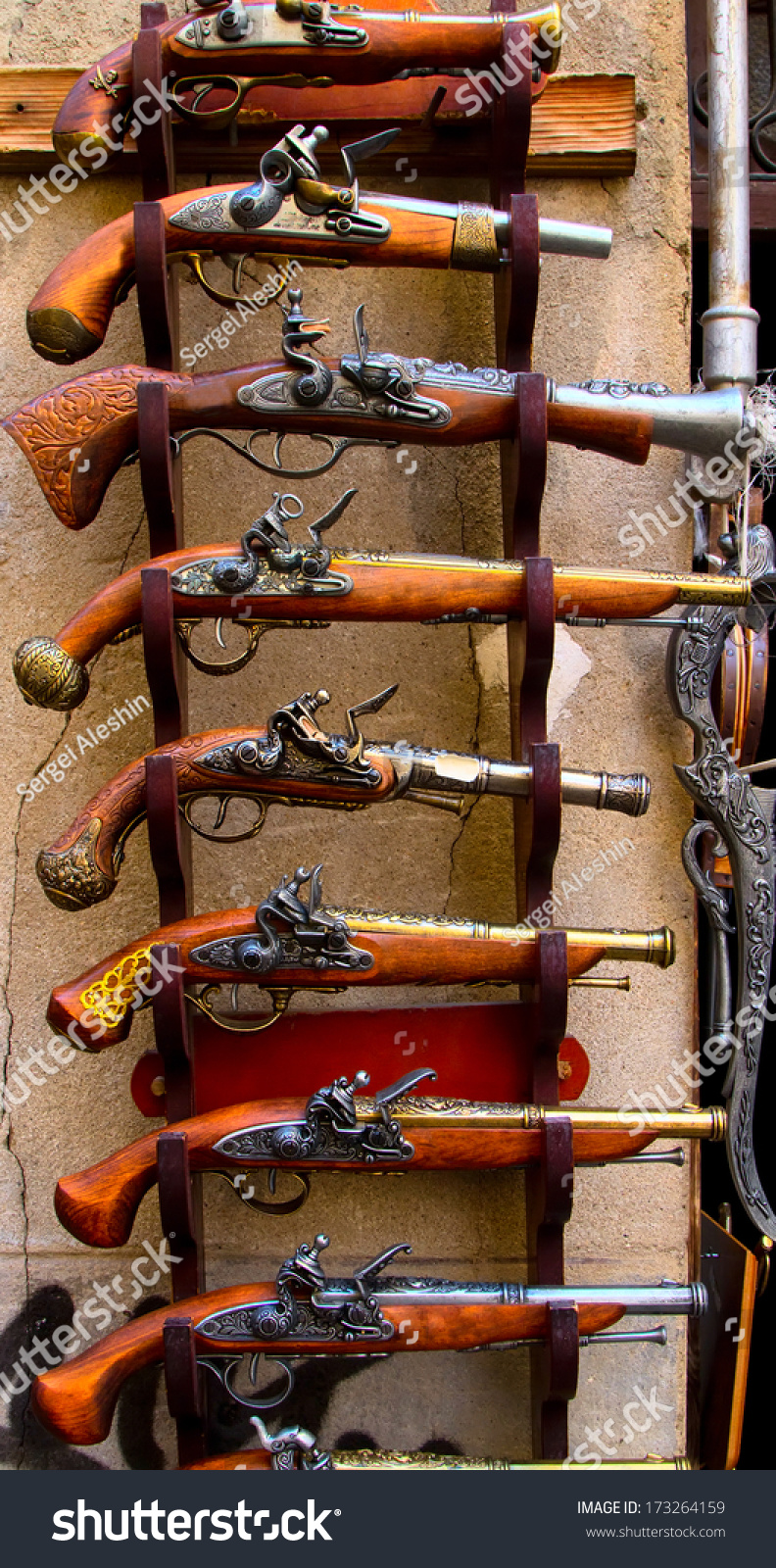 Storefront Medieval Weapon Store Stock Photo Edit Now 173264159
